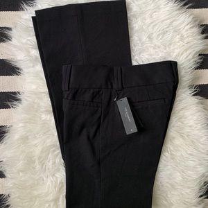NWT Banana Republic Sloan Fit Flare Black Trouser